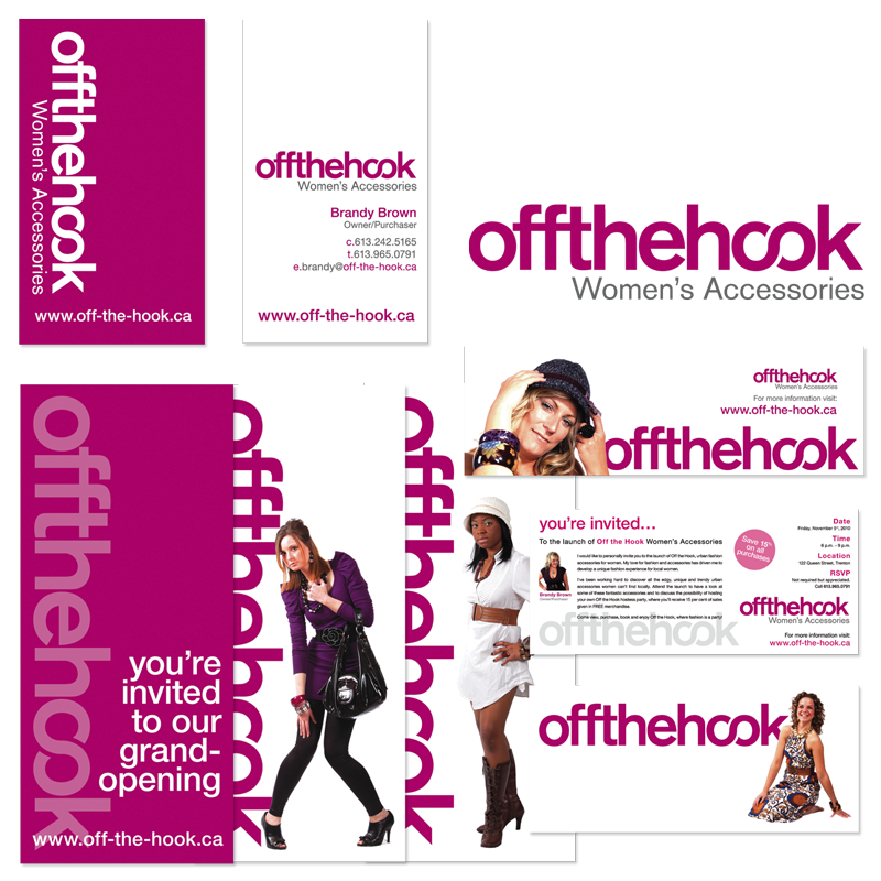 Off the Hook - Branding & Collateral