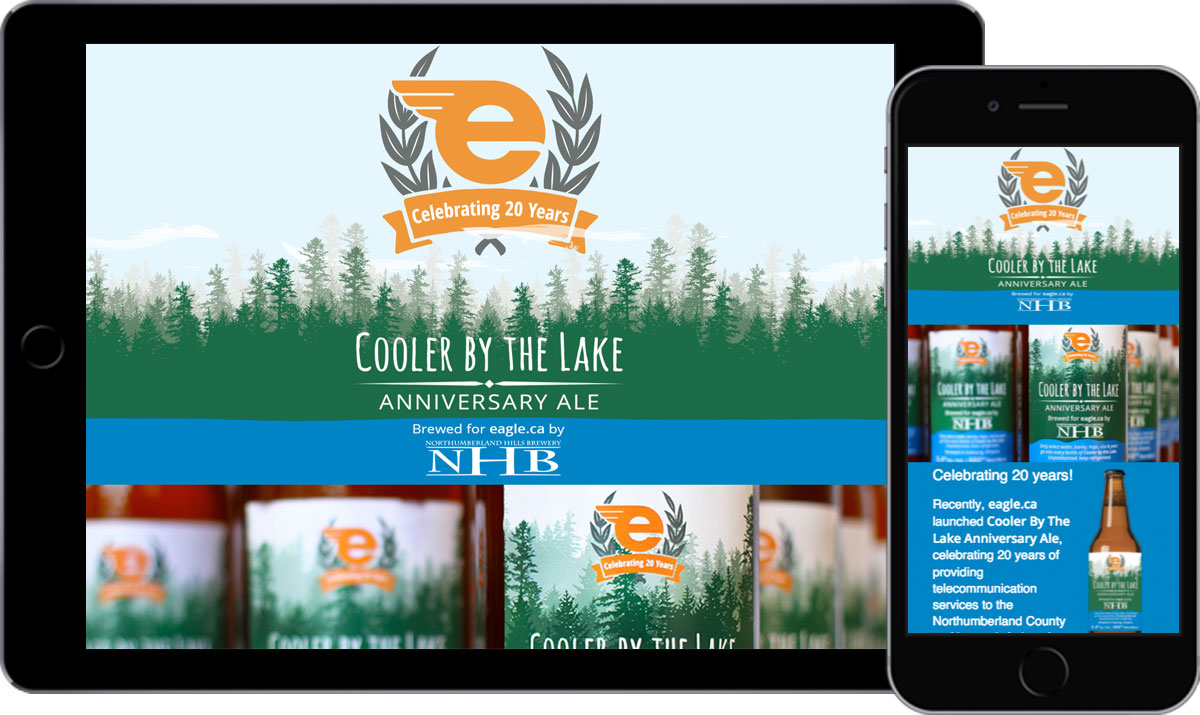 eagle.ca - Cooler By the Lake - Website