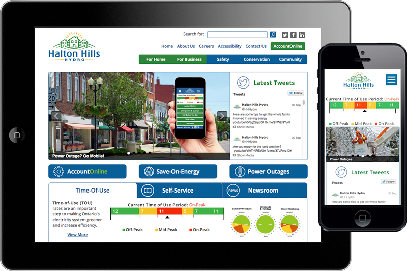 Halton Hills Hydro - Website